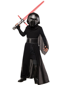 Kylo Ren Deluxe Child Costume From Star Wars