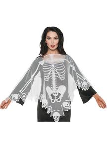 Lace Poncho Skeleton