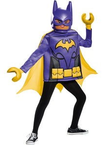 Lego Batgirl Child Costume