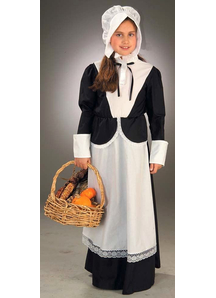 Little Pilgrim Child Costume