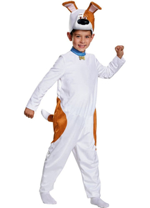 Max Classic Costume For Kids From The Secret Life Of Pets