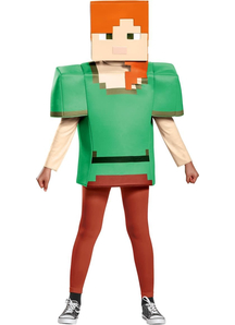 Minecraft Alex Child Costume