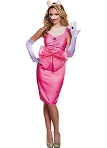 Miss Piggy Deluxe Costume For Adults