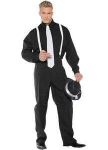 Mr Gangster Adult Costume