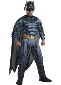 Muscled Batman Costume For Children