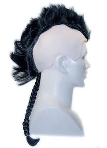 Native American Braided Wig Black
