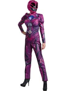 New Pink Ranger Adult Costume