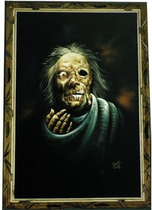 Painting Rotty Randy