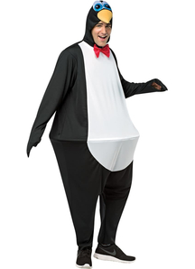 Penguin Hoopster Adult Costume