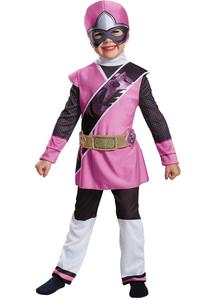 Pink Ranger Steel Child Costume