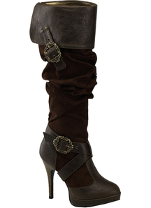Pirates of The Caribbean Brown Boots