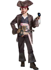 Pirates of The Caribbean Captain 5 Jack Sparrow Child Costume