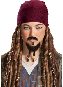 Pirates of The Caribbean Pirate Goatee Mustache Child