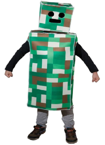 Pixel Monster Costume For Children