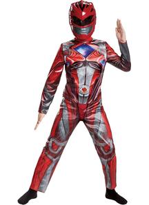 Power Red Ranger Child Costume