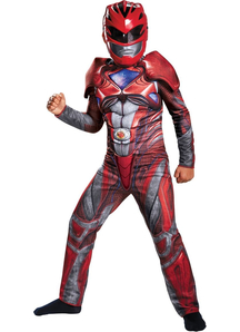 Power Red Ranger Muscle Child Costume