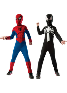 Reversible Spiderman Child Costume