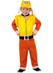 Rubble Costume For Children From Paw Patrol