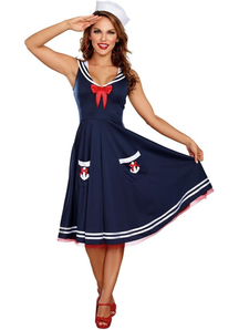Sailor Sweety Adult Costume