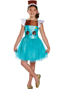 Shopkins Cheeky Chocolate Costume For Children