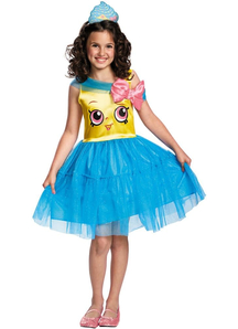 Shopkins Cupcake Queen Costume For Children