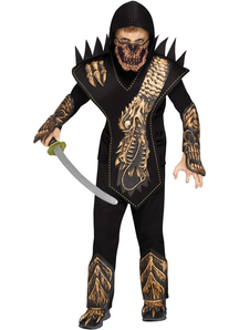 Skull Dragon Ninja Child Costume