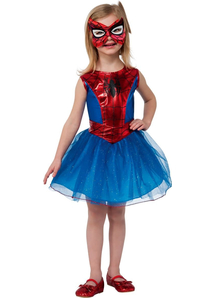 Spidergirl Kids Costume
