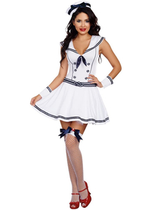Super Sexy Sailor Adult Costume