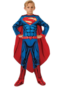 "Superman ""Man Of Steel"" Child Costume."