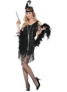 Swingin Black Costume For Women