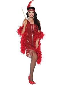 Swingin Red Costume For Women