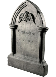 Tipping Tombstone Prop