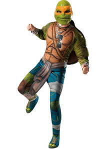 Tmnt 2 Michelangelo Adult Costume