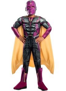 Vision Child Costume