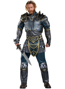 Warcraft Lothar Costume For Adults
