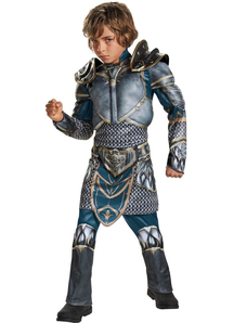 Warcraft Lothar Muscle Costume For Children