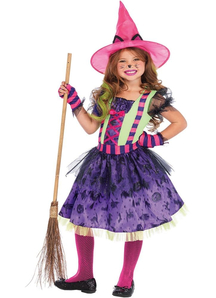 Witch Cat Child Costume