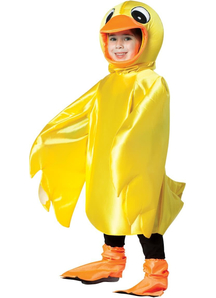 Yellow Ducky Toddlers Costume
