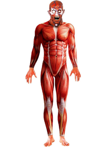 Anatomy Man Adult Costume