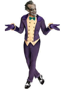 Arkham City Joker Adult Costume