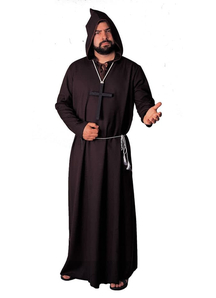Balck Robe Monk Adult