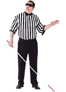 Blind Referee Adult Costume