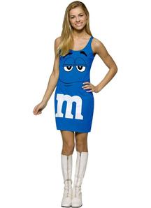 Blue M&M'S Teen Costume