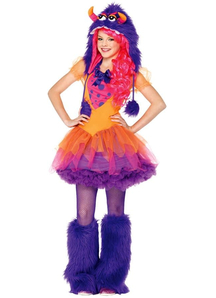 Bright Monster Teen Costume