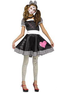 Broken Doll Teen Costume