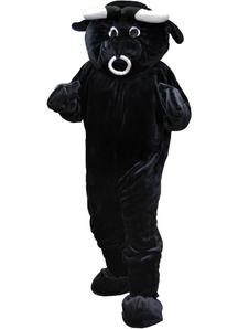 Bull Mascot Adult Costume