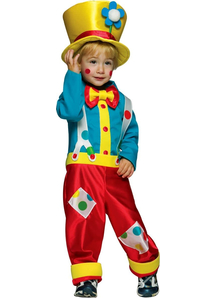 Clown Boy Child Costume