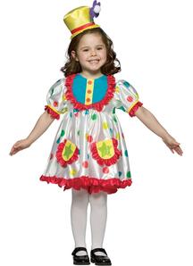 Girl Clown Costume for Kids