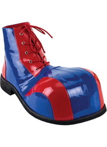 Clown Shoes Red Blue