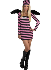 Convicted Girl Teen Costume